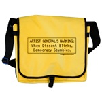 When Dissent Blinks... Messenger Bag
